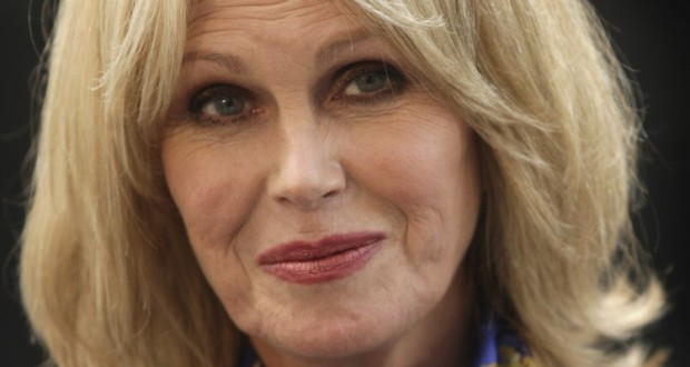The fabulous campaigner: Joanna Lumley