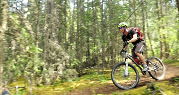 Canada: Mountain biking in the Yukon
