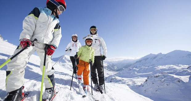 Family snow holidays: playing it cool