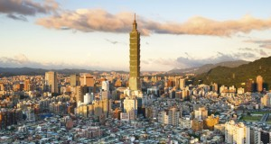 Taipei: The only way is up