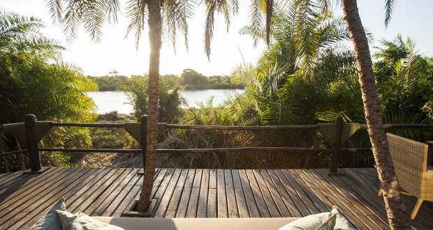 Suite at the Saadani River Lodge, Saadani National Park, Tanzania. Image: Saadani Sanctuary Retreats.