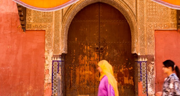 Marrakech Travel Guide - A street scene