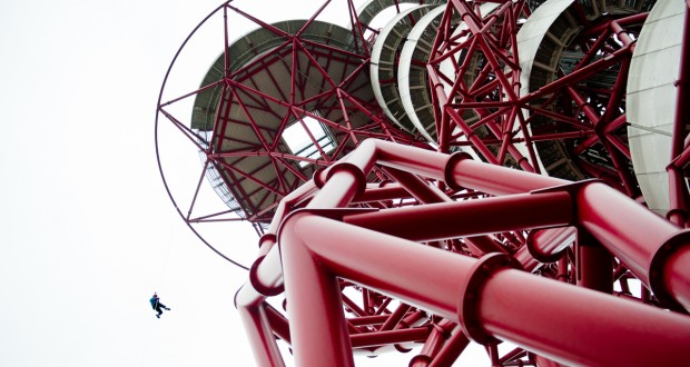 London: Abseiling the Orbit