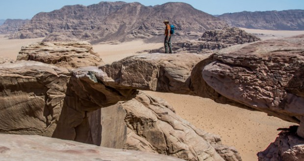 Wadi Rum: On the mountain goat trail