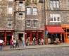 Grassmarket Street shops. Image: Getty