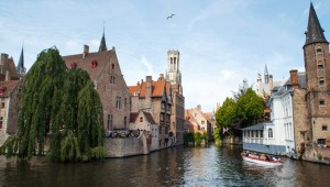 The canals of Bruges. Image: Jael Marschner