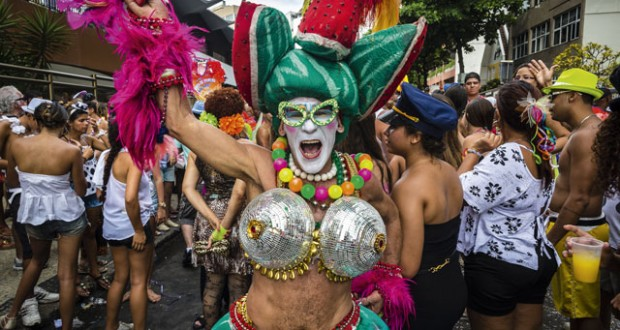 Banda de Ipanema street party. Image: Getty