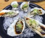 Oysters in soy sauce at Encuentro Guadalupe, Baja California. Image: Laura Price