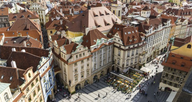 Prague city. Image: Getty