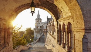 Fisherman's Bastion, a neo-Gothic folly overlooking Pest, Budapest. Image: Richard James Taylor
