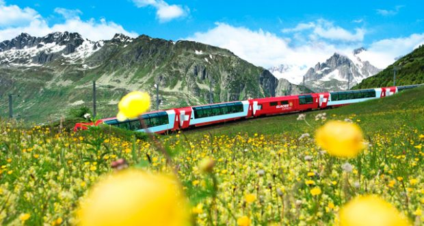 Win a memorable trip on Switzerland's iconic Glacier Express