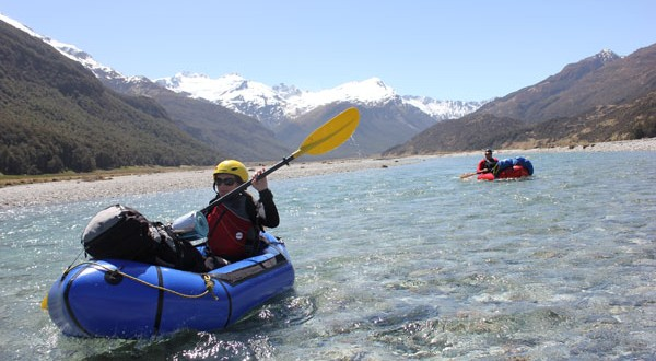 Packrafting in NZ