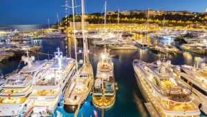 Yachts moored in Port Hercule, Monaco. Image: Getty