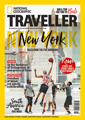 National Geographic Traveller - October 2016