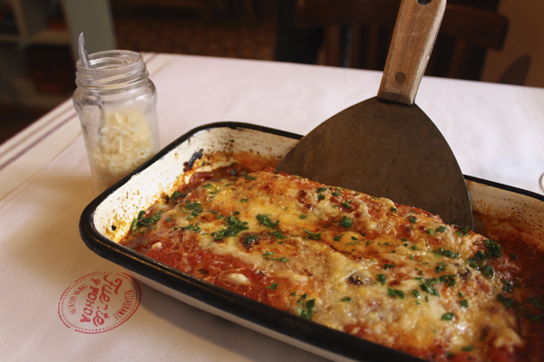 Mendoza food: Home-style cannelloni at Fuente y Fonda