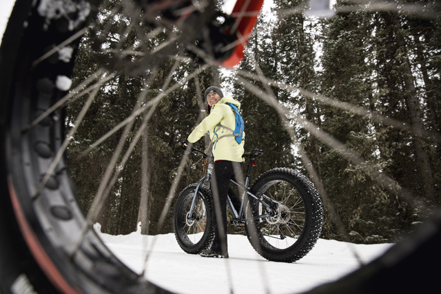 Winter sports and ski news: Fat biking. Image: Getty Images