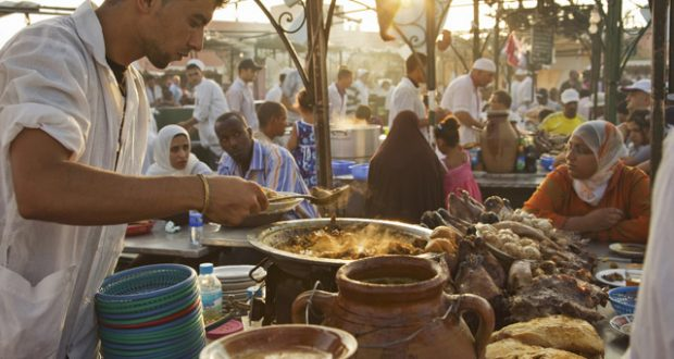 Djemaa el Fna, Marrakech. Image: Getty