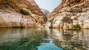 Wadi Shab, Oman. Image: Getty