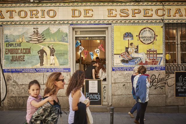 Malasaña district is being revived by a new entrepreneurial spirit. Image: Nick Warner
