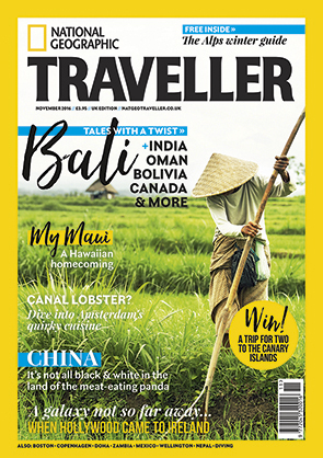 National Geographic Traveller - November 2016 issue