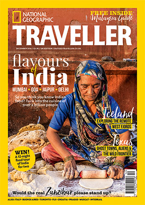 National Geographic Traveller - December 2016 issue