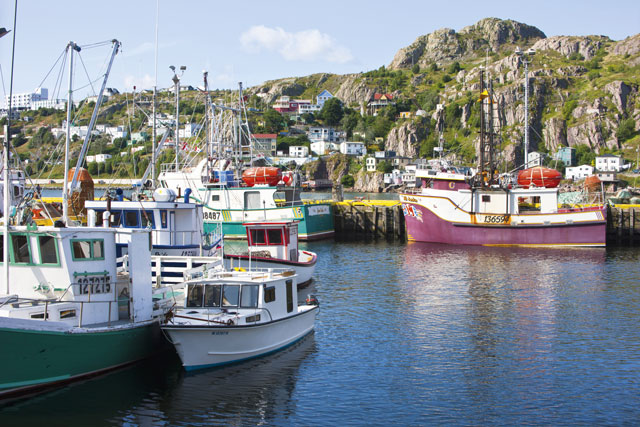 St. John's, Newfoundland and Labrador, Canada. Image: SuperStock