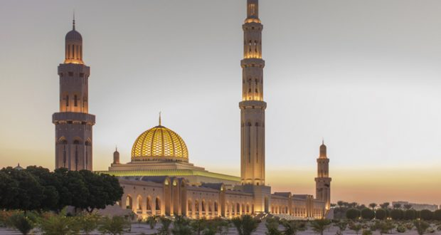 The Sultan Qaboos Grand Mosque, Muscat. Image: Getty