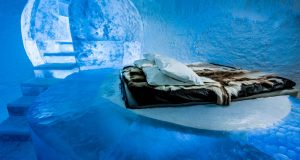 Sweden: A night at the Icehotel