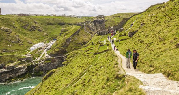 Tintagel Castle, Cornwall: Tales of King Arthur