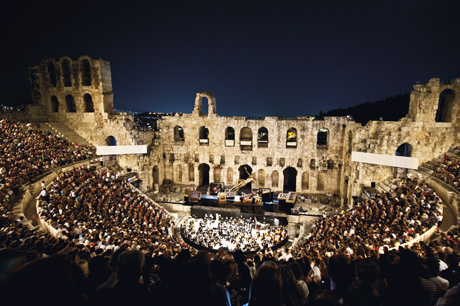 Odeon Theatre of Herod Atticus. Credit: Region of Attica