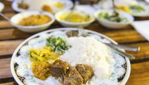 Sri Lankan curry. Credit: Getty