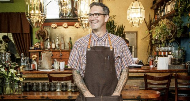 Jason French, chef and owner of Ned Ludd
