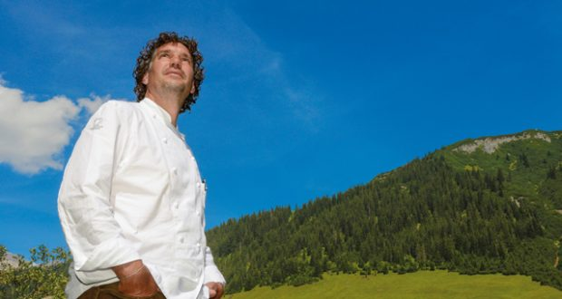 Chef's table: Thorsten Probost in Vorarlberg