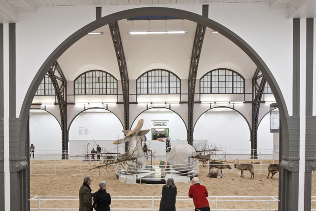 Hamburger Bahnhof, a  museum in a former railway station. Credit: Superstock