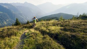 Cycling in the mountains of Tirol. Image: Getty