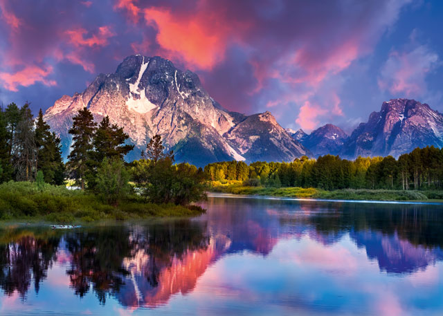 The Tetons, USA