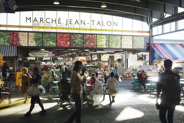 Marché Jean-Talon covered market, Saint Laurent Boulevard