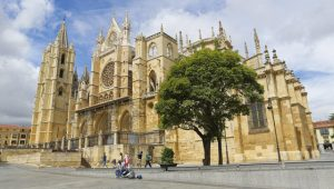 Cathedral of Leon, an important stop on the Way of St James. Image: Getty