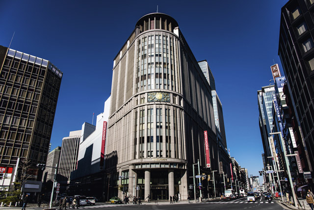 Mitsukoshi Department Store. Image: Alamy
