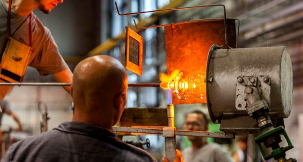 Moser glassworks. Image: Alamy