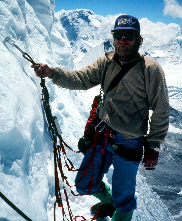Greg Lowe on Ama Dablam, Nepal
