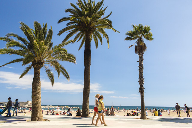 Barceloneta Beach. Image: Getty