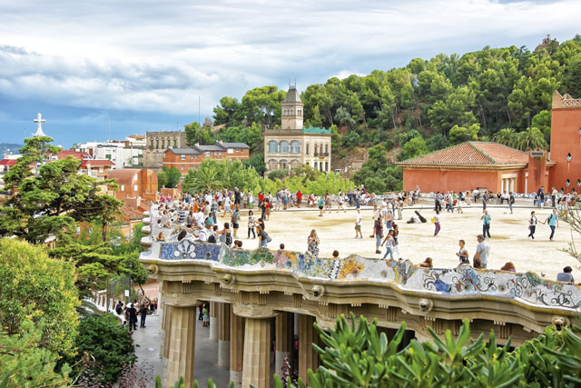 Park Güell. Image: Getty