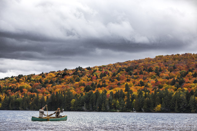 Canoeing in Ontario. Image: Getty